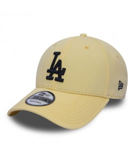 Casquette Incurvée New Era Los Angeles Dodgers Pastel 9Forty Jaune
