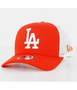Casquette Trucker New Era Los Angeles Orange Pack Truck Orange