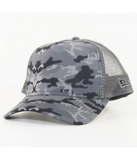 Casquette Trucker New Era Seasonal Camo Truck Gris