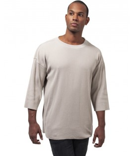 T-shirt Gaufré Oversize Urban Classics Beige Thermal
