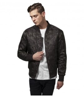 Bomber Camo Urban Classics Camouflage Olive