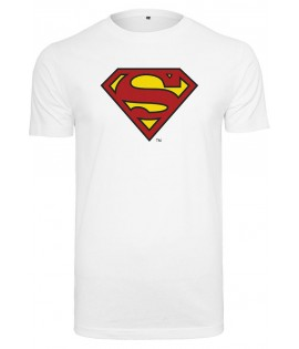 T-shirt Superman Logo Tee Blanc