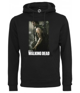 Sweat Capuche The Walking Dead Gun Hoody Logo Noir