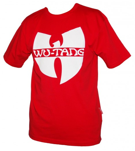 Tee-shirt WU WEAR logo Wu-Tang Clan Rouge