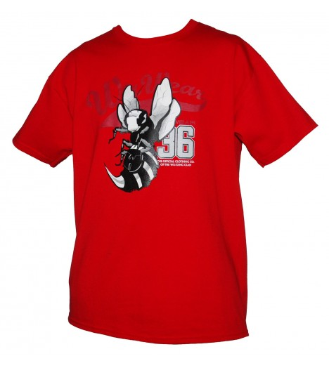 Tee-shirt WU WEAR logo Wu-Tang Clan Killa Bee Rouge