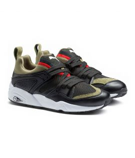Baskets Puma Blaze Of Glory Streetblock Burnt Olive