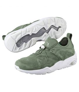 Baskets Puma Blaze Of Glory Soft Agave Vert Trinomic