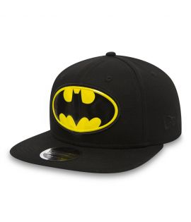 Casquette New Era 9Fifty DC Universe Batman Team Logo Weld Noir