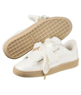 Chaussures Puma Basket Patent Heart Classic Marshmallow Do You