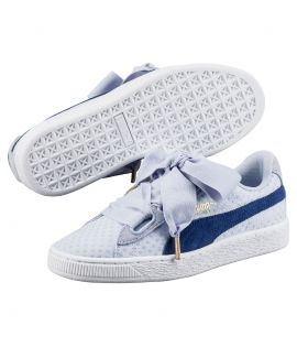 Chaussures Puma Basket Heart Denim Twilight Blue Do You