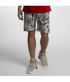 Short Ecko Unltd. Comic Allover Noir/Blanc