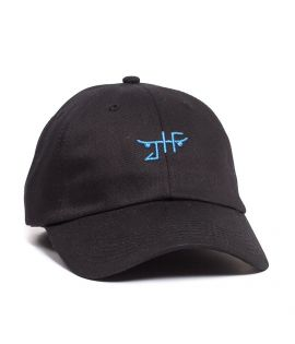 Casquette Just Have Fun Classic Skate Dad Hat Noir
