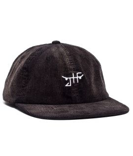Casquette Just Have Fun Burnout Velcro Strapback Noir