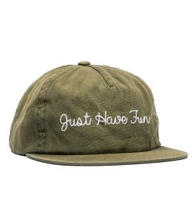 Casquette Just Have Faded Strapback Olive