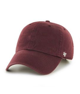 Casquette 47 Brand Clean Up Classic Blank Bordeaux