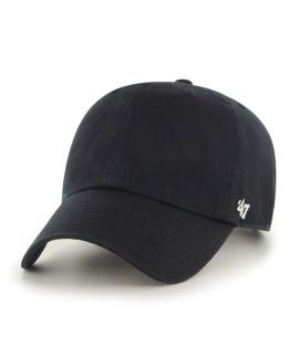 Casquette 47 Brand Clean Up Classic Blank Noir