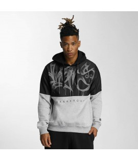 Sweat Capuche Dangerous DNGRS Bombing Noir/Gris