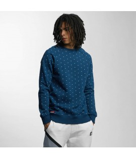 Sweat Ecko Unltd. Crew Star Bleu