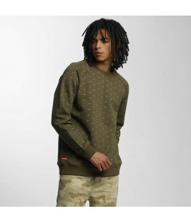 Sweat Ecko Unltd. Crew Star Olive