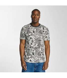 T-shirt Ecko Unltd. Comic Allover Noir