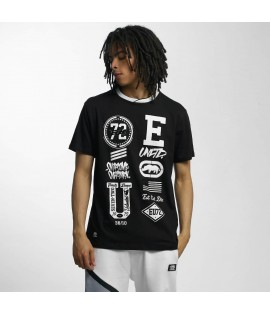 T-shirt Ecko Unltd. College Patches Noir