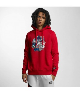 Sweat Capuche Ecko Unltd. Retro Hoody Rouge
