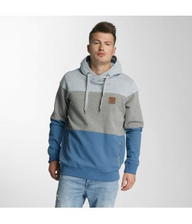 Sweatshirt Capuche Just Rhyse Pina Valley Gris/Bleu