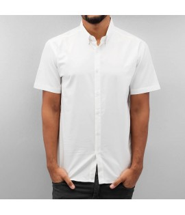 Chemise manches courtes Cazzy Clang *B-Ware* Short Sleeves II Blanc