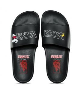 Sandales Vans x Peanuts Slide-On Noir