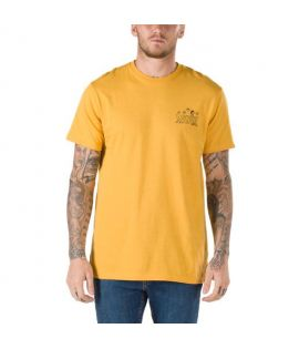 T-shirt Vans x Peanuts Classic Snoopy Jaune Moutarde