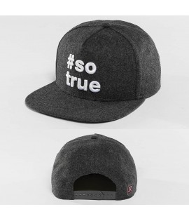 Casquette Snapback Just Rhyse Being True Anthracite