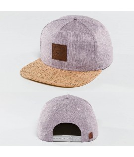Casquette Snapback Just Rhyse Wood Rhyser Violet claire