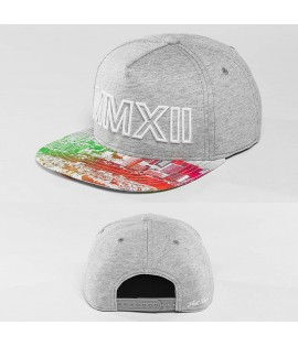 Casquette Snapback Just Rhyse MMXII Gris