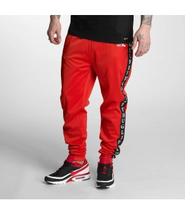 Bas de jogging Thug Life Two Stripes Rouge