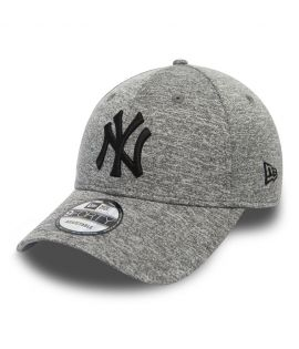 Casquette Incurvée New Era New York Yankees Tech Jersey 9Forty Gris