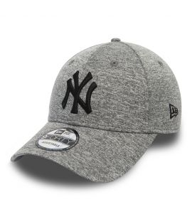 Casquette Incurvée Femme New Era New York Yankees Tech Jersey 9Forty Gris