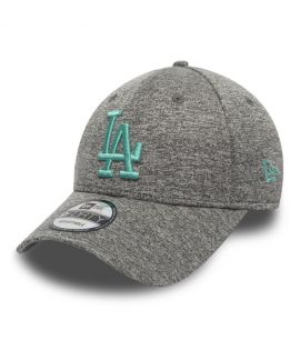 Casquette Incurvée New Era Los Angeles Dodgers Tech Jersey 9Forty Gris
