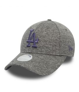 Casquette Incurvée Femme New Era Los Angeles Dodgers Tech Jersey 9Forty Gris