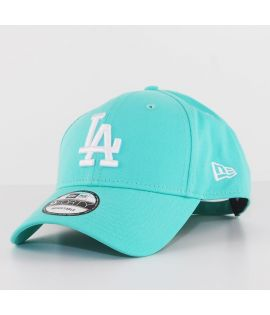 Casquette Incurvée New Era Los Angeles Dodgers Brights 9Forty Bleu Aqua