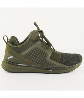 Chaussures Puma Ignite Limitless Knit Olive
