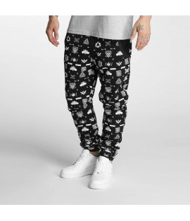 Bas de jogging Dangerous DNGRS *B-Ware* All Over Noir