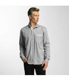 Chemise Cazzy Clang Squares *B-Ware* Gris