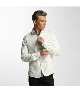 Chemise Cazzy Clang Squares *B-Ware* Blanc