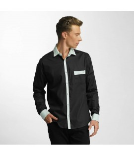 Chemise Cazzy Clang Leeong *B-Ware* Noir