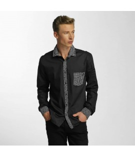 Chemise Cazzy Clang Plaid *B-Ware* Noir