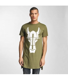 T-Shirt long Cavallo Streets Long Oversize Olive