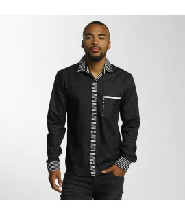 Chemise Cazzy Clang Stripes *B-Ware* Noir