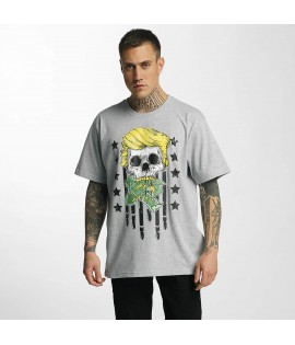 T-shirt Dangerous DNGRS Don Bomb Gris
