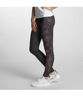 Leggings Dangerous DNGRS Flourish Noir/Rose