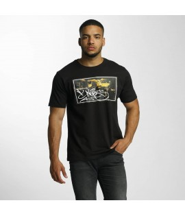 T-shirt Dangerous DNGRS Subway King Rocco Noir